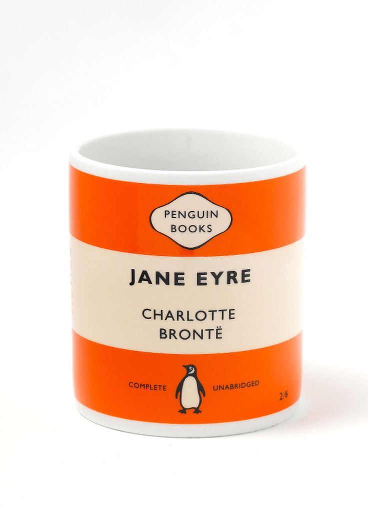 Penguin Book Cover Mugs : Pen oz mug jane eyre or home objects pinterest