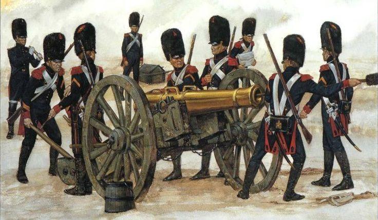 De artillerie was de ruggengraat van het leger. De artilleriesoldaten waren hard getraind en konden hierdoor snel hun kanonnen verplaatsen en afvuren. De kanonnen waren opgesteld in vele, grote batterijen en er waren verschillende kalibers beschikbaar.