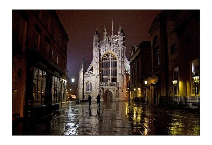 Bath Abbey, Bath, Somerset attended Christmas Eve service here 2010 with our daughter