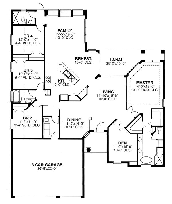 62 best images about places i 39 ve lived on pinterest for Florida ranch house plans