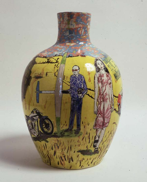 Grayson Perry Nostalgia for the Bad Times 1999 Earthenware 43 x 28 x 28 cm