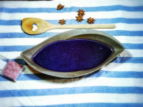 Blaukraut bleibt Blaukraut - Cremé - Suppe - Die Blaukrautsuppe schmeckt angenehm süßlich und herzhaft zugleich. Und diese Farbe!