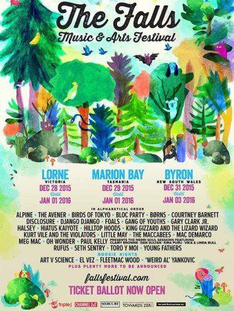 the falls music and arts festival - Google zoeken