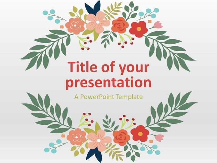 26 best PowerPoint Templates images on Pinterest Presentation - spring powerpoint template