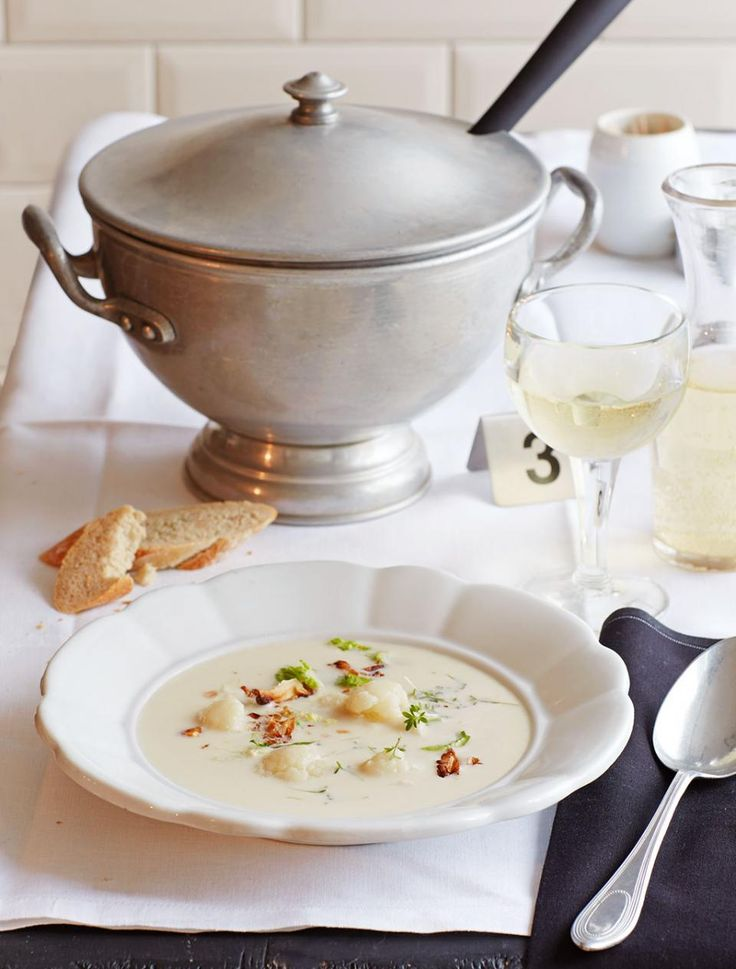 Rezept: Crème Dubarry (Blumenkohlsuppe)