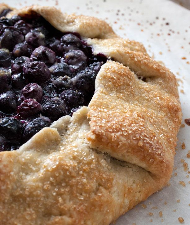 Blueberry Galette - The Merchant Baker