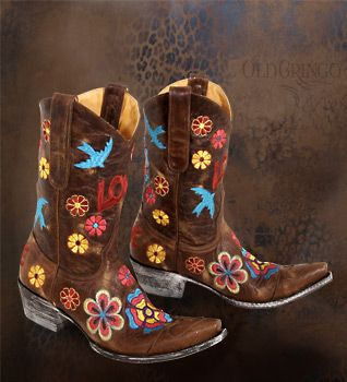 All you need is Love... AND.. Old Gringo Boots!!!