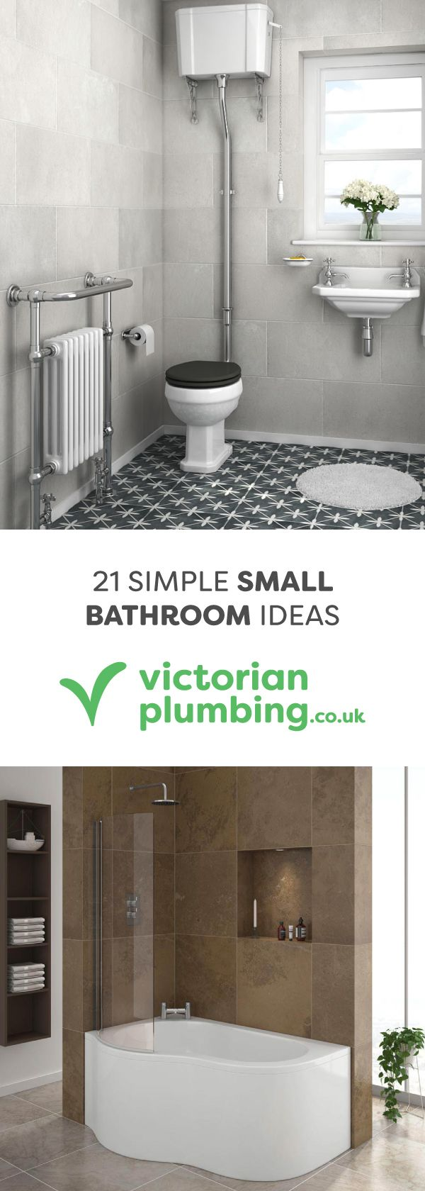 55 best small bathrooms images on pinterest bathroom ideas create something beautiful in your small space with these 21 simple small bathroom ideas from online