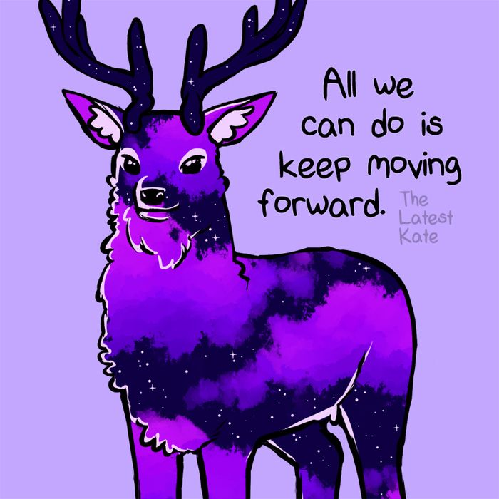 Cute Animal Illustrations Merged With Powerful Motivational ...