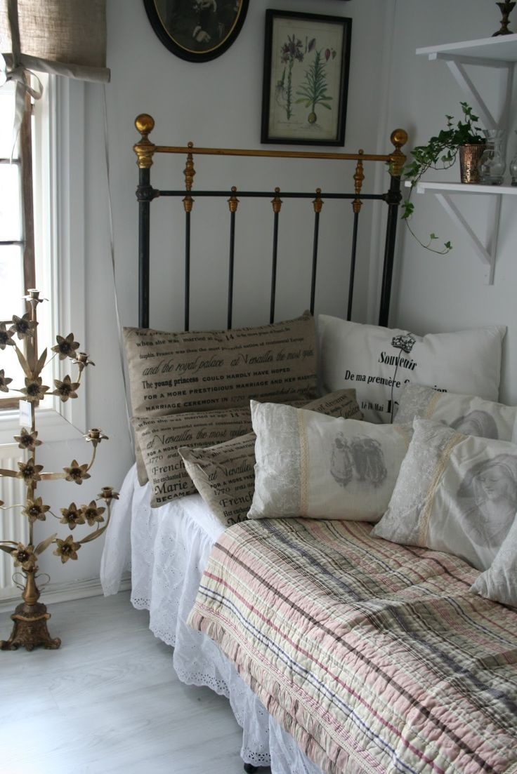 95 best twin single size antique iron beds images on pinterest