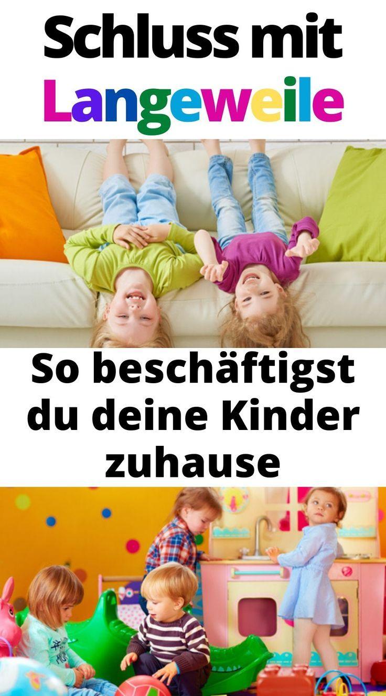 Lustige Kinderspiele für drinnen - so sind Kinder
