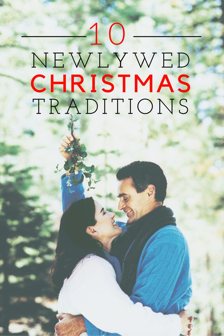Newlywed ornament - Newlywed Christmas Traditions