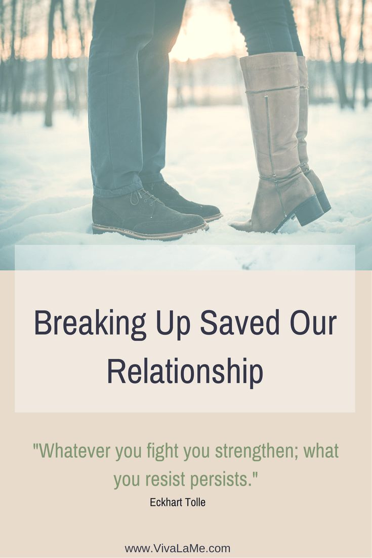 breaking our relationship off What does taking a break actually mean in the most fundamental sense, taking a break means that you and your partner haven't officially broken up, but you've decided to take some time off from each other and your relationship.