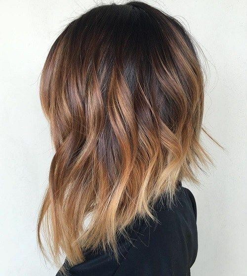 The ombre effect is expertly done. Not only are the transitions on point, but the tone is just right. 50 Inspiring Long Bob Hairstyles and Haircuts