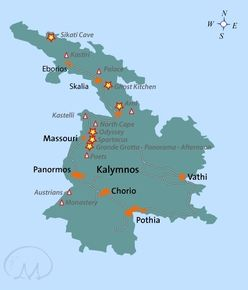 Kalymnos sector map