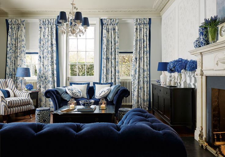 Laura Ashley AW15 #interiors #ChinaBlue