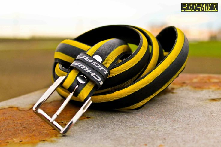 Schwalbe Lugano Yellow/Black Tire Belt: www.reframe.cc