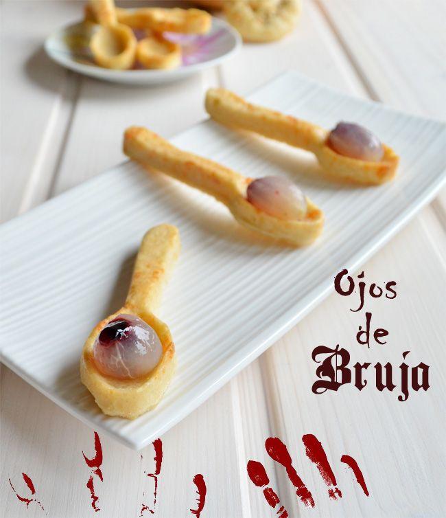 #DimequeesViernes. Gastroblog Receta para Halloween, ojos de bruja!