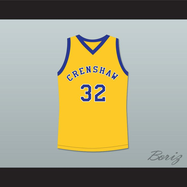 Monica Wright 32 Crenshaw High School Yellow Basketball Jersey Love and Basketball. STITCH SEWN GRAPHICS  CUSTOM BACK NAME CUSTOM BACK NUMBER ALL SIZES AVAILABLE SHIPPING TIME 3-5 WEEKS WITH ONLINE TRACKING NUMBER Be sure to compare your measurements with a jersey that already fits you. Please consider ordering a larger size, if you prefer a loose fit. HOW TO CALCULATE CHEST SIZE: Width of your Chest plus Width of your Back plus 4 to 6 inches to account for space for a loose fit. Example…