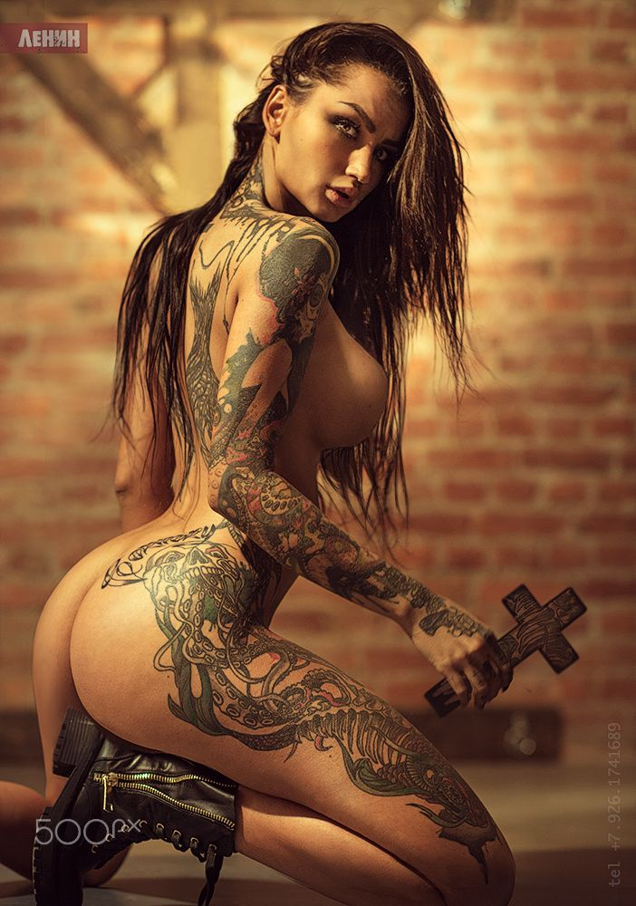 from Eddie naked sexy tattooed latina women