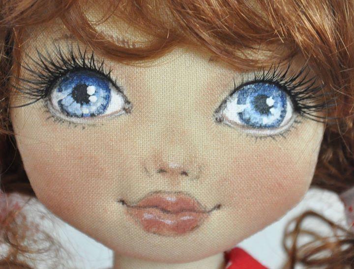 carinha boneca de pano