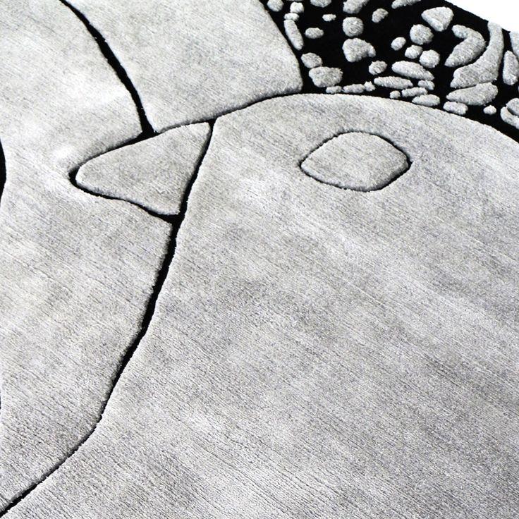 HENZEL STUDIO X JACK PIERSON X ART RUG , DETAIL