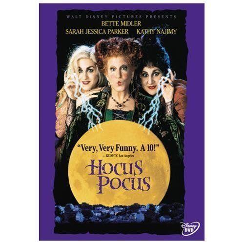 Hocus Pocus DVD 1999 Disney Bette Midler  Sarah Jessica Parker Comedy Family #BuenaVistaHomeVideo