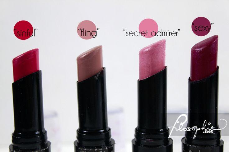 LA Girl Luxury Creme Lip Color Swatches