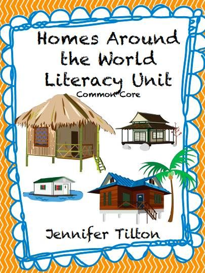 Kindertrips Homes Around The World Educational Activities