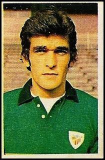 Zaldúa. Athletic Club de Bilbao. Cromos Ruiz Romero. Temporada 1976-77.