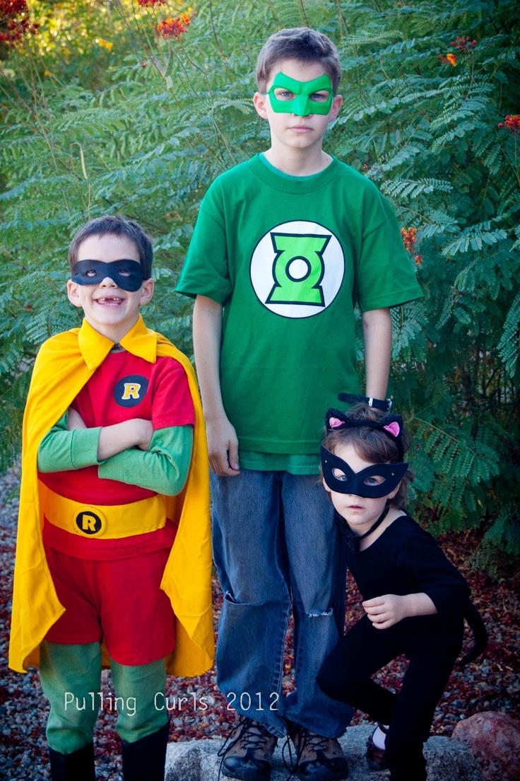 Superhero costume ideas