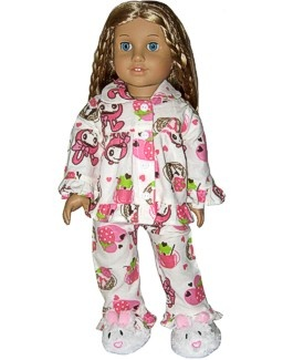 american girl doll pajamas and sleepwear, super cheap American Girl clothing  #Amelia