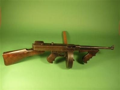 .45 Caliber Thompson submachine gun