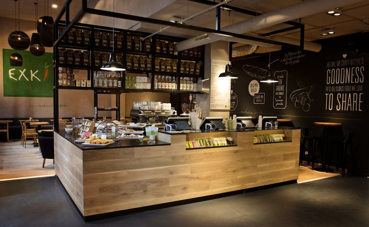 "Lunchbar concept ""Exki"" The Hague (The Netherlands). Horeca Stylist Rein Rambaldo was responsible for the design"