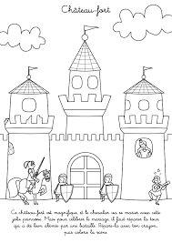 r sultat de recherche d 39 images pour chateau fort dessin couleur patrons pour livres. Black Bedroom Furniture Sets. Home Design Ideas