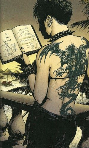 Lisbeth Salander in comics