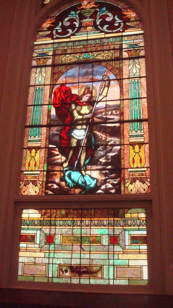 St. Michael, the Archangel, St. Mary Magdalen Church, Abbeville, LA