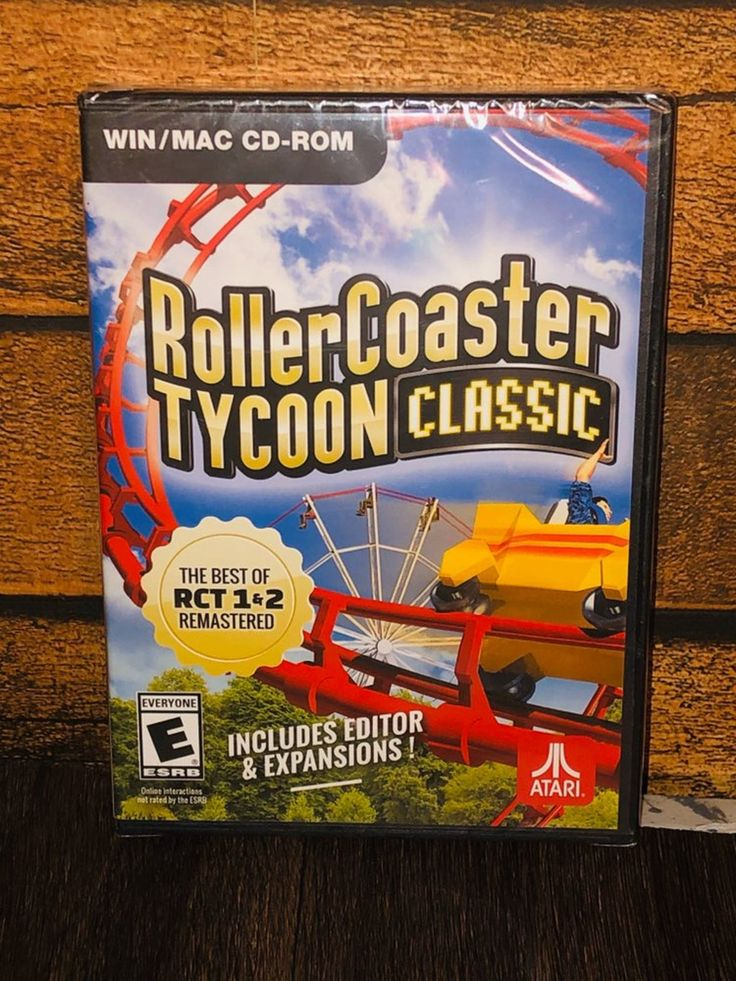 PC Roller Coaster Tycoon Classic Game in 2020 Classic