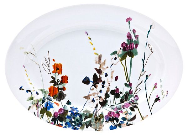 Padma Wildflower Serving Platter | A New Mix | One Kings Lane