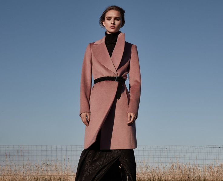 The Great Outdoors - REISS Blush Pink Coat