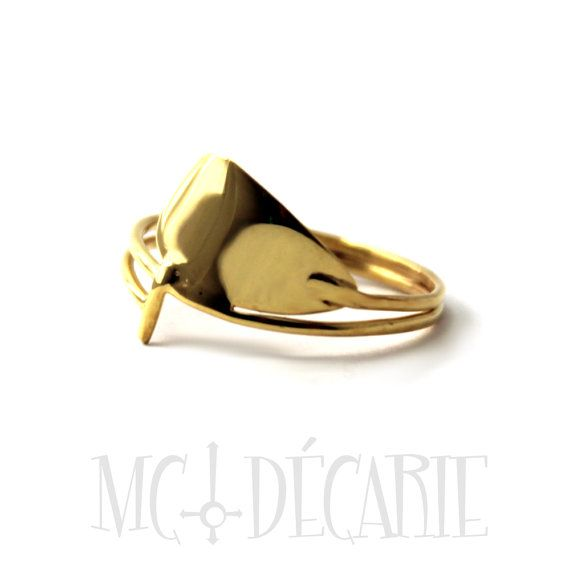 SUP Paddle ring gold plated stand up paddle board by MCDecarie