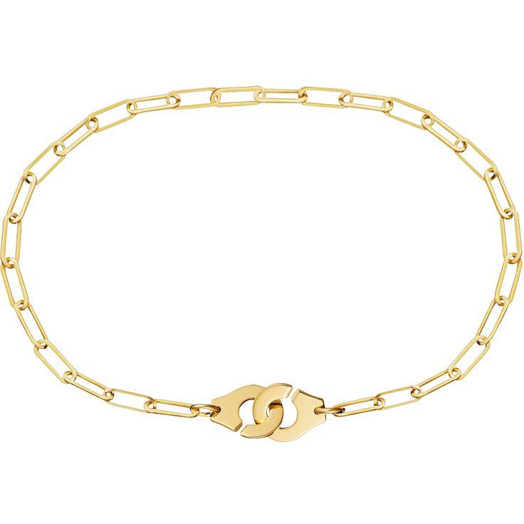 Dinh van Bracelet Menottes dinh van R8 or jaune