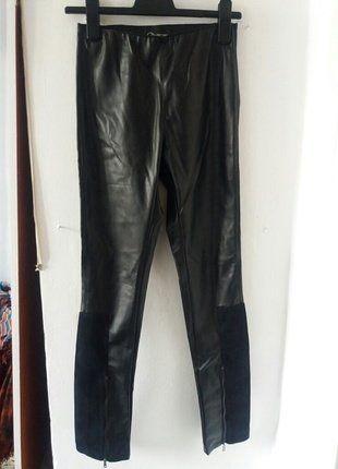 Kup mój przedmiot na #vintedpl http://www.vinted.pl/damska-odziez/rurki/15196019-modne-spodnie-skorzane-by-gosia-baczynska
