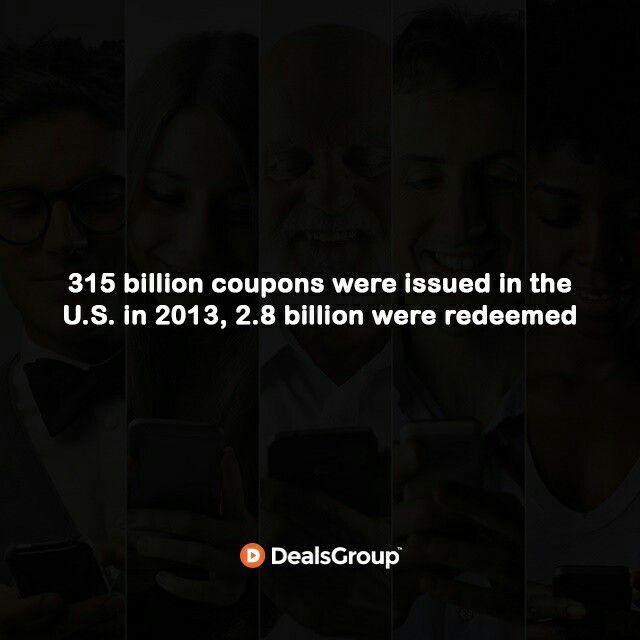 315 billion #Coupons were issued in the U.S. in 2013, 2.8 billion were redeemed. #HistoryofCoupons