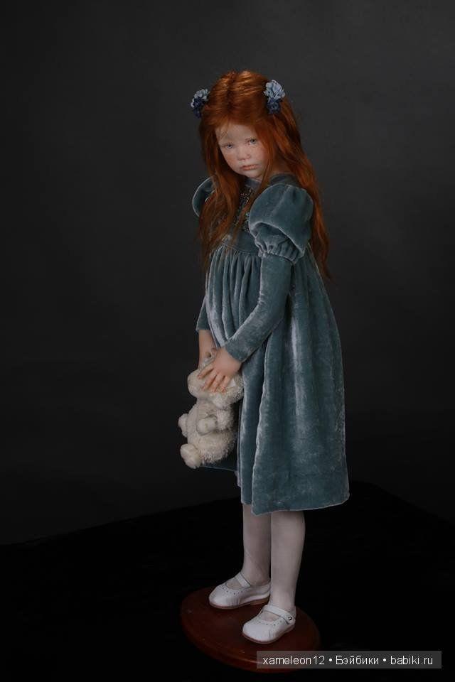 Продолжаю показ авторских кукол от одного из магистров кукольного дела, Laura Scattolini (Laura Scattolini). Напоминаю, что все куклы, делаются исключительно