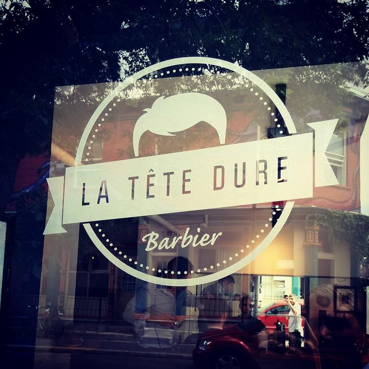 "Dove farvi i capelli a Montréal?  A ""La Tête Dure Barbier"" ,my new look."