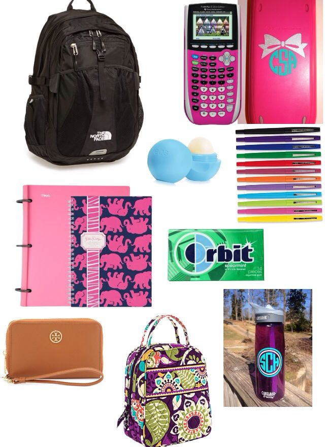 What's in my school bag?