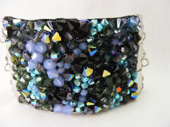 Sparkling Madness  Designer Swarovski Crystal Bracelet by Love2get, $95.00