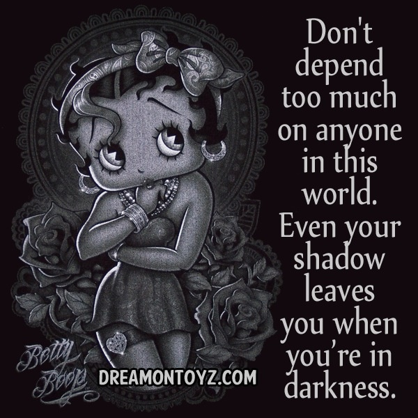 Betty Boop Pictures And Quotes: 42 Best Images About BETTY BOOP QUOTES On Pinterest
