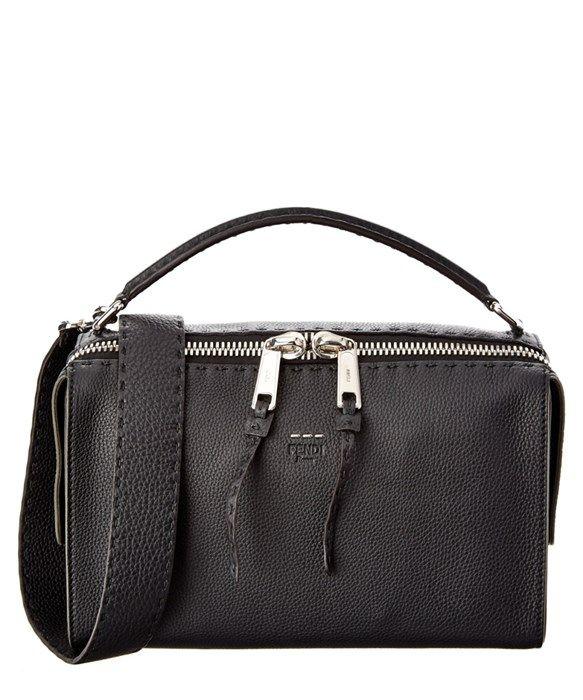 FENDI Lei Selleria Leather Boston BagFENDI Fendi Lei Selleria Leather Boston Bag $2,700.00 40% OFF $1,629.99